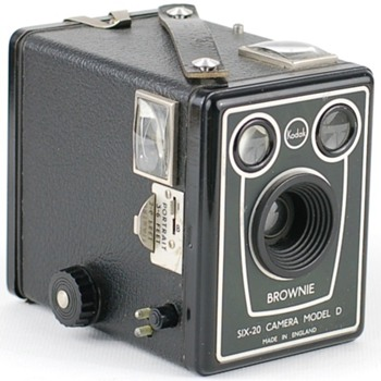 Brownie Six-20 camera model D Export version