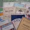 Vintage Sheet Music