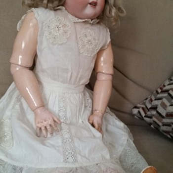 old            large doll