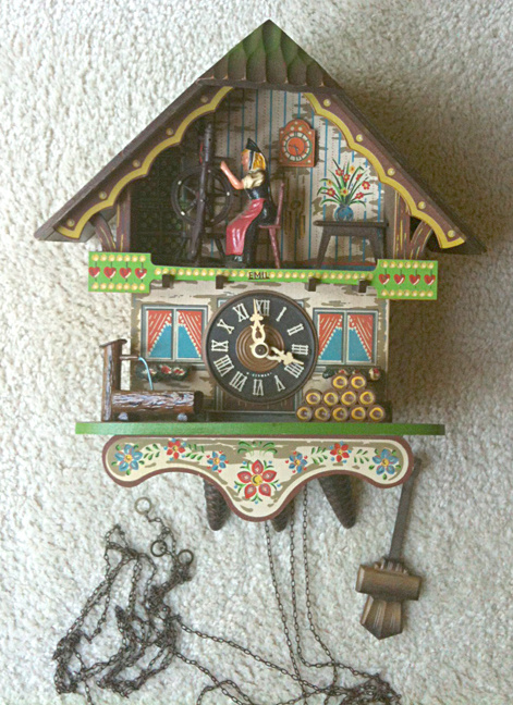 Pin motorcycle wheel stamp and wing these stamps on pinterest - Motorcycle cuckoo clock ...