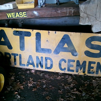 Atlas Portland Cement - Signs