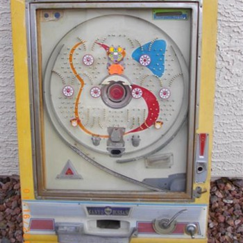 Early 1960's Japanese Pachinko Machine - Asian