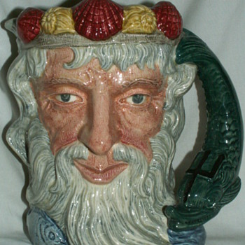 1960 Royal Doulton Toby Jug ~ Neptune - England - Pottery