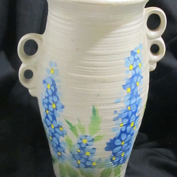Persian England Vase  - Art Pottery