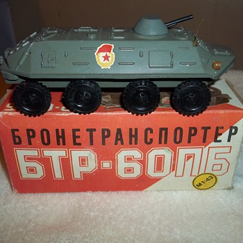 RUSSIAN BUILT MODEL - Model Cars