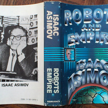 Robots and Empire by Isaac Asimov - Books