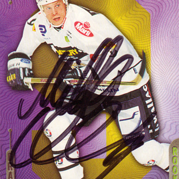 Signed Hockey cards - Hockey