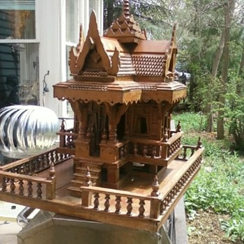 Burmese spirit house - Asian