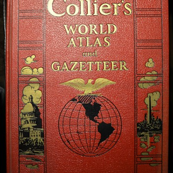1938 Collier's World Atlas and Gazeteer