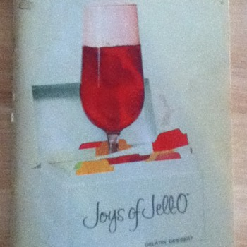 """Joys of Jell-O"" Vintage Recipe Booklet - Books"
