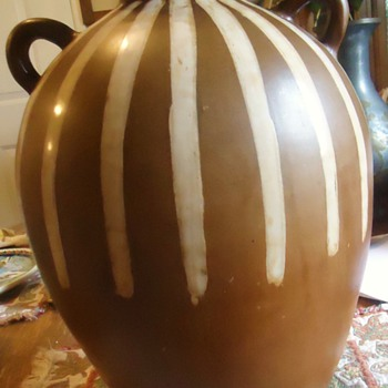 "Jose Sosa Master Potter, Peru 13"" Water Jug! Sooo Prtetty!! - Art Pottery"