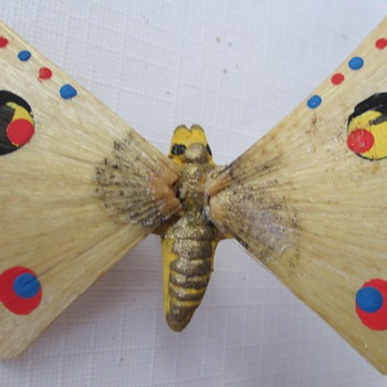 Butterfly Ornament, vintage or antique? - Christmas