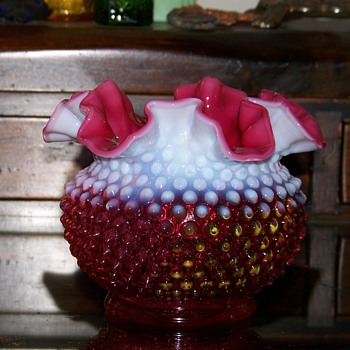 Another Fenton Vase - Glassware