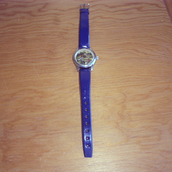 Child's Swiss Teeter Totter wristwatch - Wristwatches