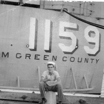 Photos of my father from his Navy days - Photographs