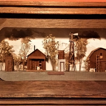 Texas Farm Diorama - Visual Art