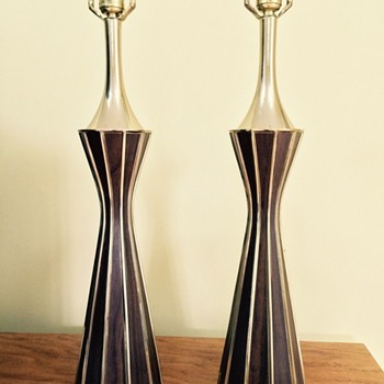 Need help identifying a pair of lamp bases - Laurel, perhaps?