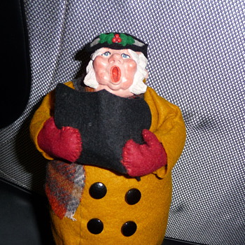 Simpich Doll Vintage Fat Man - No Date?