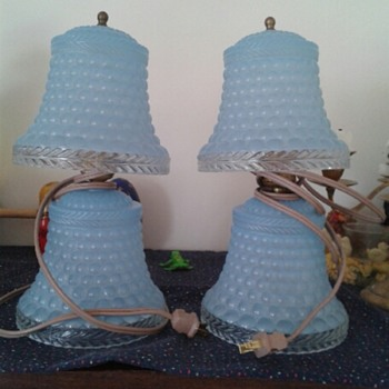 Blue lamps from my mom - Lamps