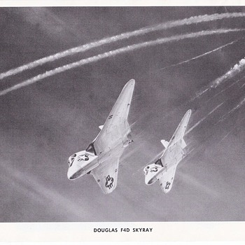 Douglas Aircraft Series Skyray and Skyrocket - Advertising