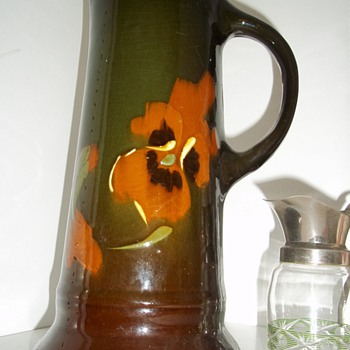 GRANDFATHERS VASE & PITCHER - Art Pottery