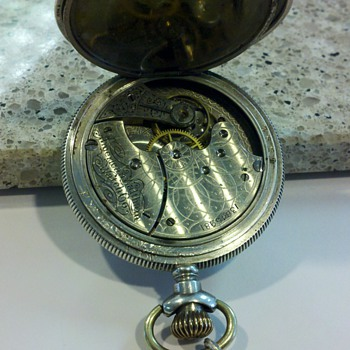 Pocket Watch, American Waltham 1904 Elgin Case