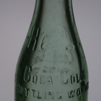 Mystery Vintage Cola Cola Bottle?