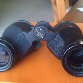 WW2 U.S. Navy Binoculars - Military and Wartime