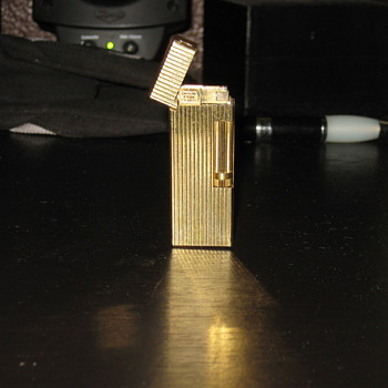 "Antique gold lighter ""need some advice"