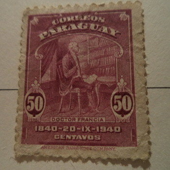 Paraguay Vintage Stamps - Stamps