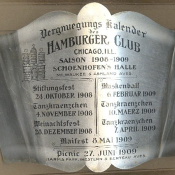 The Hamburger Club - Advertising