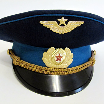 Russian Air Force Hat - Military and Wartime