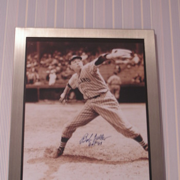 Bob Feller Autographed Photo