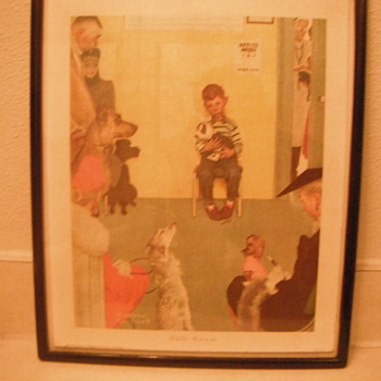 Rockwell lithograph - Posters and Prints