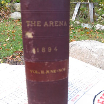 Elbert Hubbard ..Arena Press - Arts and Crafts