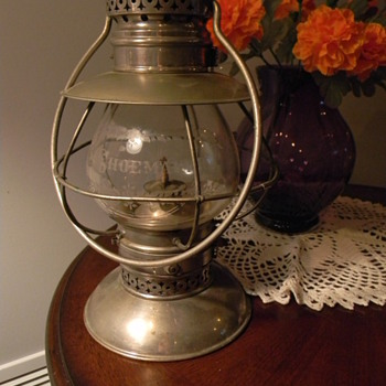 Looking for Info On a Kelley Lantern - Railroadiana