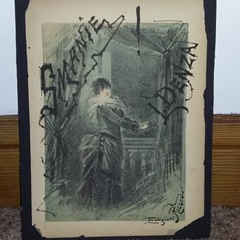 1884 Opera Poster