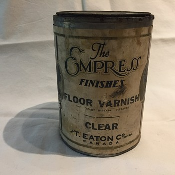 The T. EATON Co. Limited, Winnipeg Clear Floor Varnish