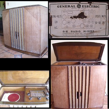 Old console General Electric - Radios