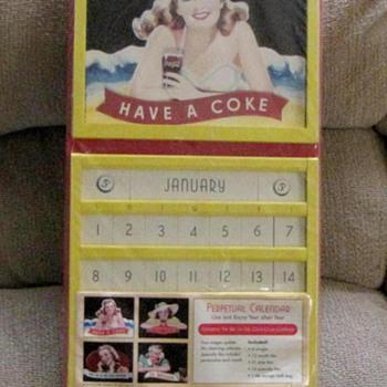 Vintage pre 1946 Coca Cola Calendar - Coca-Cola