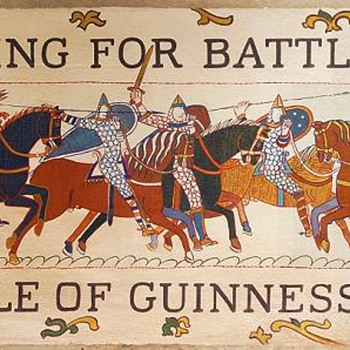 A Thirst for Guinness Original Canvas, 1966
