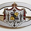 Hawaii Coat of Arms Sterling Pin