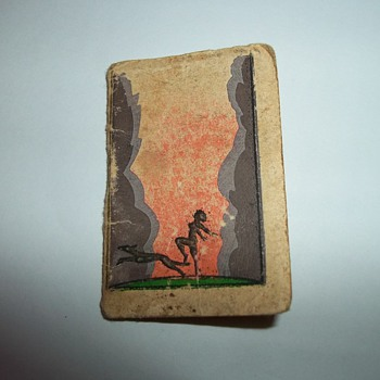 MINIATURE POCKET CALENDAR/NOTE BOOK