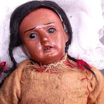 Indian doll - any help appreciated - Dolls