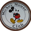 Mickey Mouse Club porcelain sign