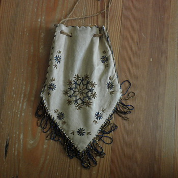 Beaded Buckskin Bag