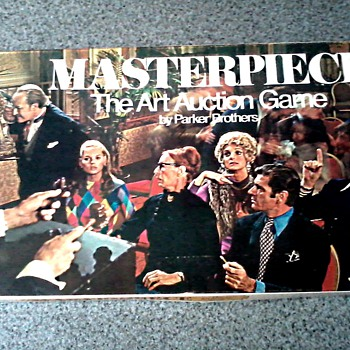 "Original ""Masterpiece"" Game by Parker Brothers / Circa 1970 - Games"