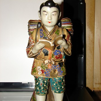 Japanese porcelain statue - Asian