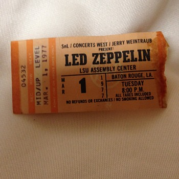 Led Zeppelin 1977 - Music
