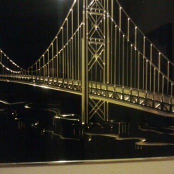 Oakland Bay Bridge? - Art Deco